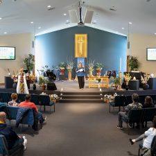 New Life Church Sunday service.